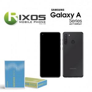 Samsung Galaxy A21 (SM-A215F) Display unit complete black