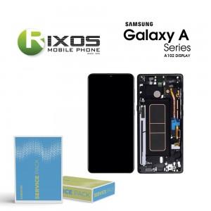 Samsung Galaxy A10 (SM-A102F) Display unit complete black GH82-19367A