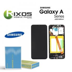 Samsung Galaxy A20e (SM-A202F) Display unit complete black GH82-20186A  OR GH82-20229A