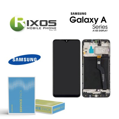 Samsung Galaxy A10 (SM-A105F) Galaxy M10 (SM-M105) Display unit complete black GH82-20227A OR GH82-20322A