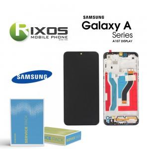 Samsung Galaxy A10s (SM-A107F) Display unit complete black GH81-17482A OR GH81-20306A