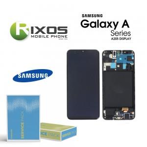Samsung Galaxy A20 (SM-A205F) Display module LCD + Digitizer black GH82-19571A OR GH82-19572A OR GH82-21250A