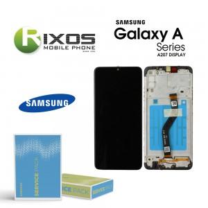 Samsung Galaxy A20s (SM-A207F) Display unit complete black GH81-17774A OR GH82-17774A
