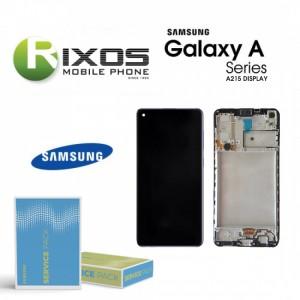 Samsung Galaxy A21 (SM-A215F) Display unit complete black GH82-18223A OR GH-82-21199A OR GH-82-24641A OR GH-82-24642A