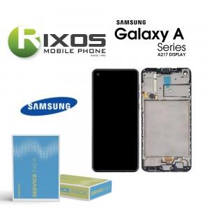 Samsung Galaxy A217 (A21s 20) Lcd Display unit complete GH82-23089A OR GH82-22988A