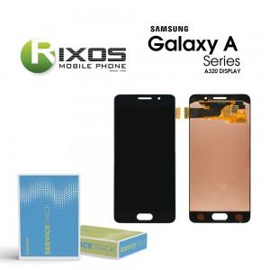 Samsung Galaxy A3 2017 (SM-A320F) Display module LCD + Digitizer black GH97-19732A