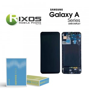 Samsung Galaxy A5 (SM-A500F) Display module LCD + Digitizer black GH97-16679B