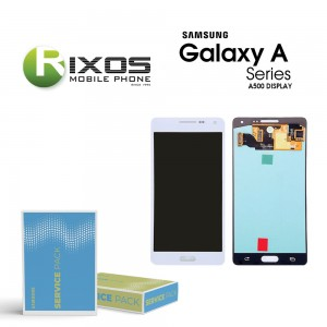 Samsung Galaxy A5 (SM-A500F) Display module LCD + Digitizer white GH97-16679A