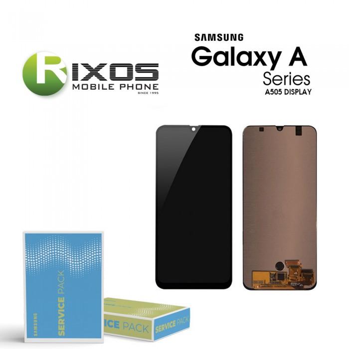 Samsung Galaxy A50 (SM-A505F) Display unit complete black GH82-19204A