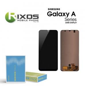 Samsung Galaxy A5 (SM-A500F) Display module LCD + Digitizer gold GH97-16679F