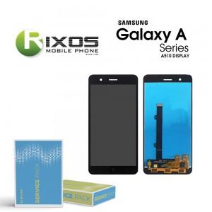 Samsung Galaxy A5 2016 (SM-A510F) Display module LCD + Digitizer black GH97-18250B