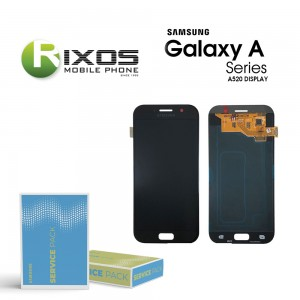 Samsung Galaxy A5 2017 (SM-A520F) Display module LCD + Digitizer black GH97-19733A