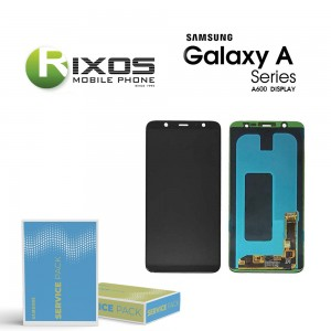 Samsung Galaxy A6 2018 (SM-A600FN) Display module LCD + Digitizer black GH97-21898A