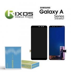 Samsung Galaxy A7+ 2017 (SM-A730F) Display module LCD + Digitizer black GH97-21535A