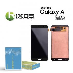 Samsung Galaxy A9 2015 (SM-A900F) Display module LCD + Digitizer gold GH97-18367A