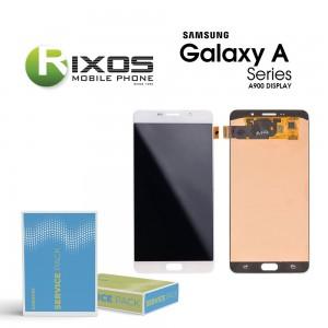 Samsung Galaxy A9 2015 (SM-A900F) Display module LCD + Digitizer white GH97-18367B