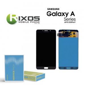 Samsung Galaxy A9 Pro 2016 (SM-A910F) Display module LCD + Digitizer black GH97-18813B