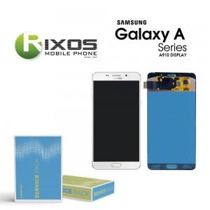 Samsung Galaxy A9 Pro 2016 (SM-A910F) Display module LCD + Digitizer white GH97-18813C