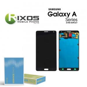 Samsung Galaxy A7 (SM-A700F) Display module LCD + Digitizer black GH97-16922B
