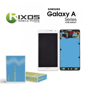 Samsung Galaxy A7 (SM-A700F) Display module LCD + Digitizer white GH97-16922A