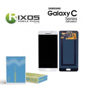 Samsung Galaxy C5 (SM-C500F) Display module LCD + Digitizerwhite GH97-19116D