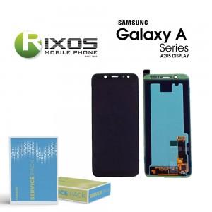 Samsung Galaxy A20 (SM-A205F) Display module LCD + Digitizer black GH82-19571A