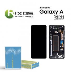 Samsung Galaxy A20s (SM-A207F) Display unit complete black GH81-17774A