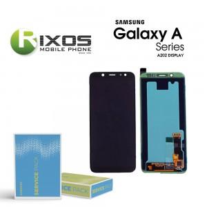 Samsung Galaxy A20e (SM-A202F) Display unit complete black GH82-20186A