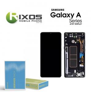 Samsung Galaxy A70S (SM-A707F) Display unit complete black GH82-21379A
