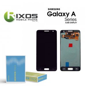 Samsung Galaxy A3 (SM-A300F) Display module LCD + Digitizer black GH82-16747B
