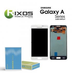 Samsung Galaxy A3 (SM-A300F) Display module LCD + Digitizer white GH82-16747A