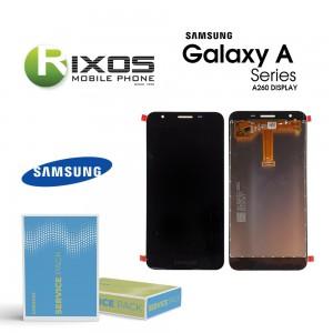 Samsung Galaxy A2 CORE (SM-A260F) Lcd Display unit complete black GH97- 23123A