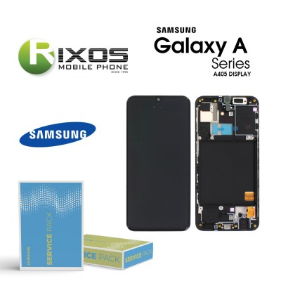 Samsung Galaxy A40 (SM-A405F) Lcd Display module LCD + Digitizer black GH97-19672A  OR GH97-19674A