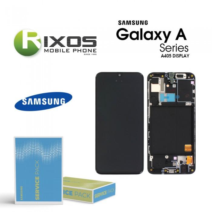 Samsung Galaxy A40 (SM-A405F) Lcd Display module LCD + Digitizer black GH97-19672A  OR GH97-19674A