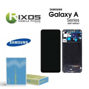 Samsung Galaxy A50S (SM-A507F) Lcd Display unit complete black GH82-21193A
