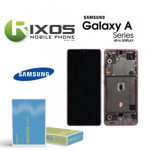 Samsung Galaxy A51 5G (SM-A516B) Lcd Display unit complete prism crush pink GH82-23124C OR GH82-23100C OR GH82-22945C