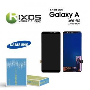 Samsung Galaxy A8 2018 (SM-A530F) Lcd Display module Digitizer black GH97-21406A OR GH97-21529A