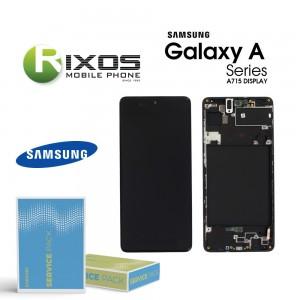 Samsung Galaxy A71 (SM-A715F) Lcd Display unit complete black GH82-22152A OR GH82-22248A