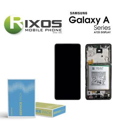 Samsung Galaxy A72 2021 (SM-A725 / A726 4G / 5G ) Display module LCD + Digitizer white GH82-25463D OR GH82-25624D
