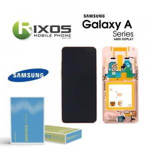 Samsung Galaxy A80 (SM-A805F) Display module LCD + Digitizer angel gold GH82-20348C OR GH82-20390C