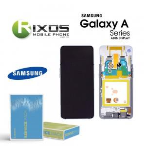 Samsung Galaxy A80 (SM-A805F) Display module LCD + Digitizer ghost white GH82-20348B OR GH82-20390B OR GH82-20368B