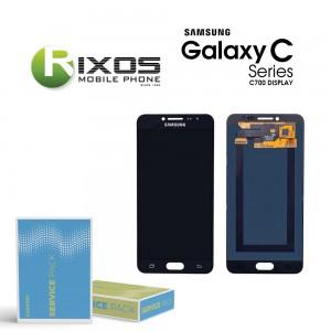 Samsung Galaxy C7 (SM-C700F) Display module LCD + Digitizer black GH97-19135B