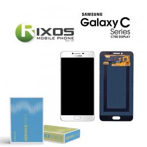Samsung Galaxy C7 (SM-C700F) Display module LCD + Digitizer silver GH97-19135C