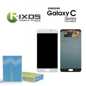 Samsung Galaxy C7 Pro (SM-C701F) Display module LCD + Digitizer black white GH97-19135A