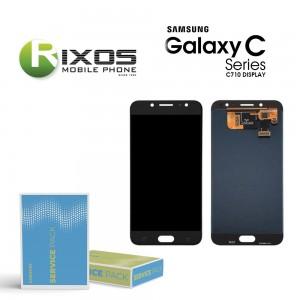 Samsung Galaxy C8 (SM-C710F) Display module LCD + Digitizer black GH97-21073A