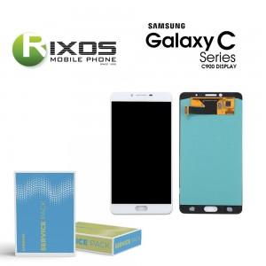 Samsung Galaxy C9 Pro (SM-C900F) Display module LCD + Digitizer white GH97-19624A