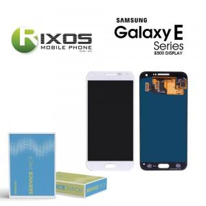 Samsung Galaxy E5 (SM-E500F) Display module LCD + Digitizer white GH97-16936A