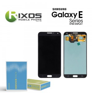 Samsung Galaxy E7 (SM-E700F) Display module LCD + Digitizer black GH97-17227C