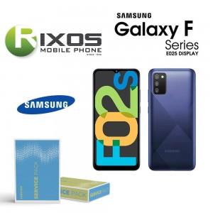 Samsung Galaxy SM-E025 ( F02s 2021 ) Lcd Display unit complete black