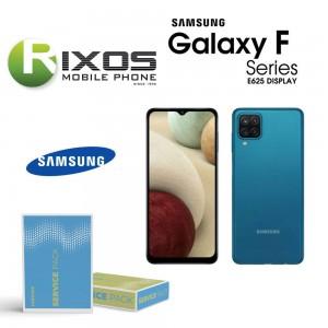 Samsung Galaxy SM-E625 ( F62 2021 ) Lcd Display unit complete black SH82-25478A